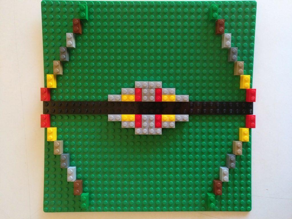 Simetrias con Lego en Aprendemos junto al mar