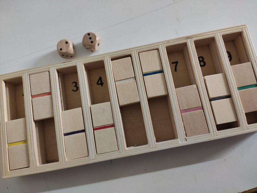 Cierra la caja cálculo mental descomposición del diez
