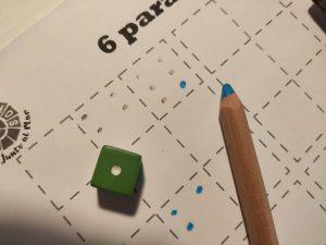juego matemático con dados matemáticas manipulativas aprendemos junto al mar