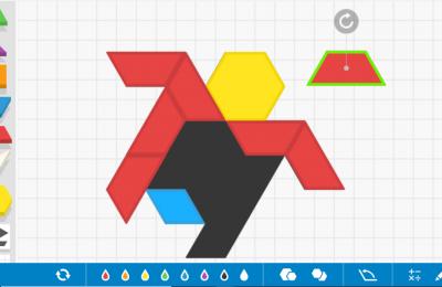 pattern blocks bloques geométricos online matemáticas manipulativas