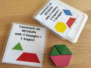 pattern blocks retos geométricos con solución