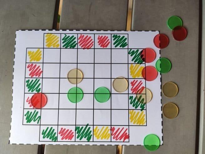 sudoku de colores en aprendemos junto al mar