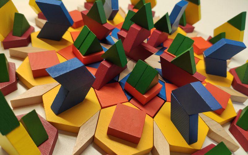 Juego de fracciones con los pattern blocks – El video